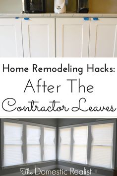 Home Remodeling Hacks Graphic | The Domestic Realist