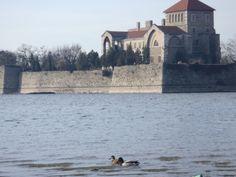 museum next to the lake Tata Hungary