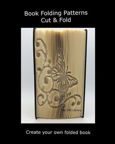 For this Pattern you will require a hardback book that is 20cm or more in height, with at least 504 numbered pages You will receive 2 PDF instant downloadable files, these will include: #Cut & Fold Easy to follow Instructions #Graph Picture Pattern Please note that this pattern can