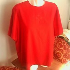 I just added this to my closet on Poshmark: Southern Lady Red Blouse 20 Short Sleeve plus Size. Price: $10 Size: 20
