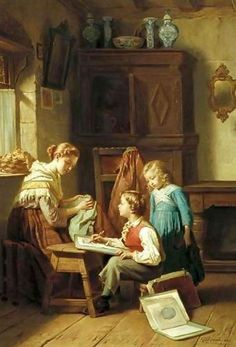 The Young Artist Theodore Gerard