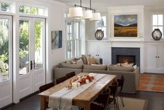 Small Traditional Living Dining Room Combination By Artistic Designs For  Living, Tineke Triggs Dining Living