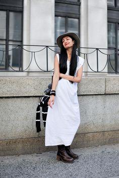ストリートスナップ [Nadia Sarwar] | vintage | ニューヨーク | Fashionsnap.com