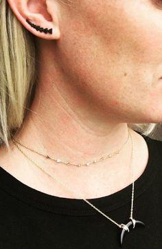 #chokers #dainty #jewellery #jewelry #stelladotstyle #fashion #gold #earclimbers
