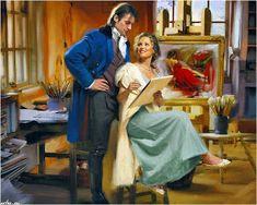 AMARNA IMAGENS: ROMANCE 1 Romance Novel Covers, Romance Novels, Love Illustration, John Paul, Edwardian Fashion, Historical Romance, Cover Art, History, American