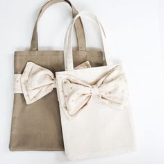 DIY: One hour tote (in two sizes).