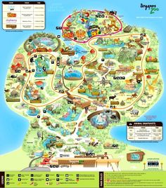 Australia Zoo Map 2018.18 Best Zoo Map Images In 2016 Exterior Signage Outdoor Signage