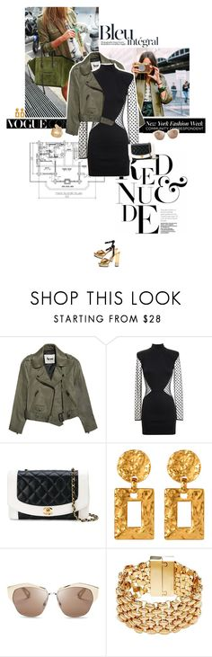 """""""Casual kinda fancy."""" by sa3ina ❤ liked on Polyvore featuring KEEP ME, Acne Studios, Balmain, Diane Von Furstenberg, Chanel, Jill Stuart, Ben-Amun, Christian Dior, GUESS and ASOS"""