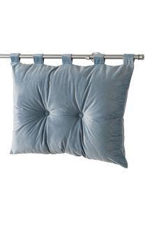 Colcha de veludo Romantic<br>50 x 68 cm - Azul