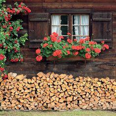 Alpine Cottage- Gruyeres, Switzerland | Photos of Europe: Fine Art Photographs by Dennis Barloga