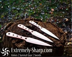 Crazy Joe Lady's Choice Throwing Knives 440 Stainless Steel, Throwing Knives, Cool Knives, Great Hobbies, Survival Gear, Blade, Hunting, Take That, Shit Happens