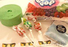 Lauras Crafty Life: Ninjago Lollipops and Printable Ninjago Eyes