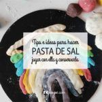 Pasta de sal. Tips e ideas para hacer y jugar Pasta, Crafts For Kids, Ideas, Baby, Kid Games, Activities, Manualidades, Crafts For Children, Kids Arts And Crafts