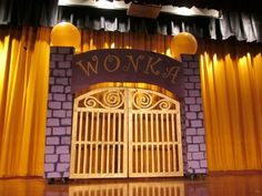 And the Chocolate Factory the Willy Wonka Props for Play | Willy Wonka Kids Eggert Rd. Elementary School Orchard Park, NY