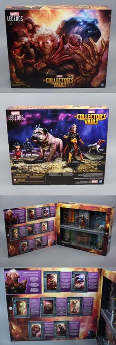 Comic Book Heroes 158671: Sdcc 2016 Exclusive Marvel Legends The Collectors Vault Figure Set Hasbro -> BUY IT NOW ONLY: $59.99 on eBay!