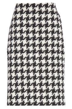 a4bd3f062 Hugo Boss 'Riami' Houndstooth Pencil Skirt Queen Letizia, Hugo Boss, Preppy,