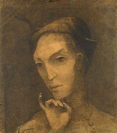 Odilon Redon (1840–1916), The Fool (Intuition)