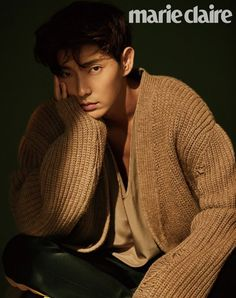 Drool over Lee Jun Ki's dreamily handsome features in 'Marie Claire'…