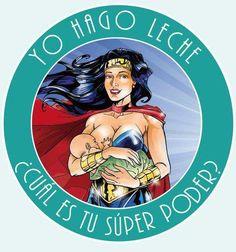 Yo hago leche... / I make milk. What's your superpower?