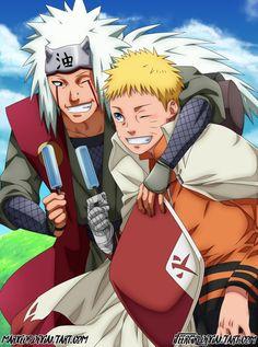 Naruto and pervy sage