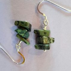 These lovely Kambaba Jasper Earrings are currently on special offer, together with Ocean Jasper earrings and a number of stitch markers. See the Sale and Special Offers section for all items on offer.