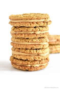 Almond Butter Cookies Recipe | http://shewearsmanyhats.com/almond-butter-cookies-recipe/