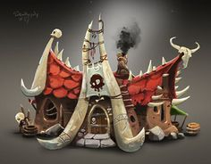 """Check out new work on my @Behance portfolio: """"#SkullyJuly3"""" http://be.net/gallery/40845131/SkullyJuly3"""