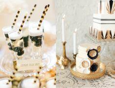 Great Gatsby Wedding - Blush Wedding Blog