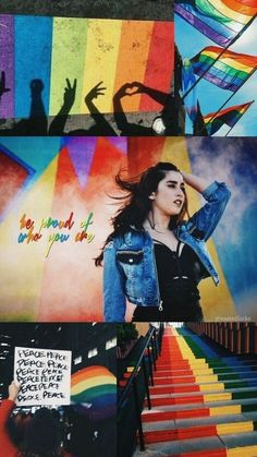 Leia Lauren Jauregui, da história Fotos Para Tela Do Seu Celular/ABERTO, de AdrianeHoran (Adriane Horan), que tem Fifth Harmony Lauren, Fith Harmony, Camila And Lauren, Lgbt Love, Rainbow Aesthetic, Gay Pride, Teen Wolf, Green Eyes, Lesbian