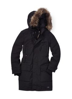 TNA BANCROFT WARMEST PARKA - Designed to survive snow, ice, wind, and rain in a sleek silhouette
