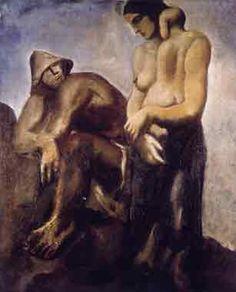 Mario Sironi La famiglia 1933-34