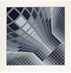 Vertche II - (Victor Vasarely)