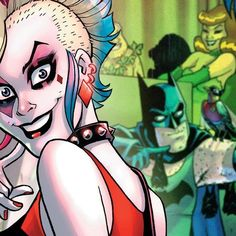 """On #DCAllAccess Jimmy Palmiotti and Amanda Conner reveal where Harley Quinn goes to relax after her latest adventure (hint: it rhymes w/ """"shmudist colony""""). Plus, find out how you can be part of a good cause with November's Jawiin Comic Drive for Soldiers! https://youtu.be/nWlFsiWTJ-U #dc#harleyquinn#suicidesquad#suicidesquad #margotrobbie #harleenquinzel #jaredleto #joker #mrj #puddin #katana #deadshot #eldiablo  #robbie #leto #dc #jaredletojoker #jokerandharley #dccomics#thecrazyones…"""
