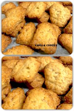 Vanilla Cookies are also called Vanilla biscuits, are typically made with flour, egg (optional), sugar, Vanilla and some type of shortening such as butter or cooking oil, baked into a small, flat shape. #vegetarian #vegetarisch #homemade #hausgemacht #yummy #delicious #tasty #lecker #cookies #biscuits #kekse #baking #bake #vanilla #vanillacookies #recipe #favourite #teatimesnacks Vanilla Biscuits, Vanilla Cookies, Tea Time Snacks, Flat Shapes, Cooking Oil, Egg, Butter, Vegetarian, Tasty