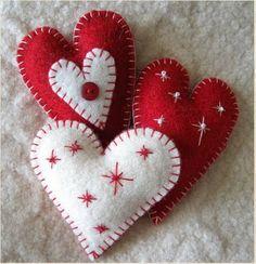 These remind me of ornaments I saw in Croatia.