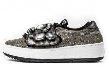 D.O.R sneakers gioiello taupe