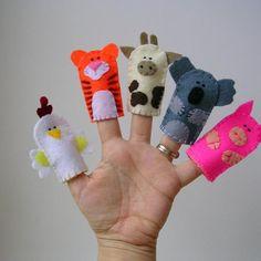 Finger puppets #makerist #nähcafe