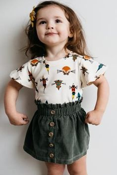 the Basic Tee with Flutter Sleeve - - the Basic Tee with Flutter Sleeve the Basic Tee with Flutter Sleeve teen fashion lolita fashion cute clothes kids fashion. Little Girl Outfits, Toddler Girl Outfits, Little Girl Fashion, Toddler Fashion, Kids Fashion, Toddler Girls, Little Girl Clothing, Children Outfits, Teenage Clothing