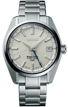 Grand Seiko Watch Mechanical Hi Beat GMT #bezel-fixed #bracelet-strap-steel #brand-grand-seiko #case-depth-14mm #case-material-steel #case-width-40-mm #clasp-type-hidden-folding-clasp #date-yes #delivery-timescale-call-us #dial-colour-silver #gender-mens #gmt-yes #luxury #movement-manual #official-stockist-for-grand-seiko-watches #packaging-grand-seiko-watch-packaging #subcat-hi-beat #supplier-model-no-sbgj001 #warranty-grand-seiko-official-2-year-guarantee #water-resistant-100m