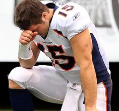 I'm so pleased that someone with this much influence is showing his faith without fear of other's opinions.  Tim Tebow