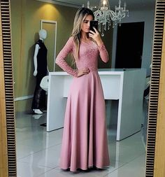 Modest Dresses, Pretty Dresses, Bridesmaid Dresses, Formal Dresses, Moda Formal, Dress Outfits, Fashion Outfits, Weeding Dress, Beautiful Outfits
