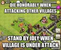 Clash of Clans Army Logic and that base looks about the standard I could attack and beat