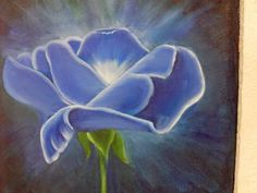 Solange Gama Coelho: Pintura em Tela,Tecido,Cursos-9196-6422(Claro),9854-3743(Tim)-Curitiba: Pintura a óleo sobre tela - rosa azul