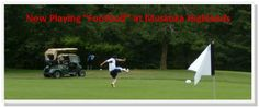 Now this is a cool twist on golf. I end up kicking my golf ball anyway! lol Try Foot Golf at Muskoka Highlands Algonquin Park, In The Heart, Golf Ball, Highlands, Scotland, Tourism, Things To Do, Kicks, Lol