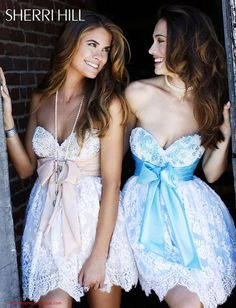 Found dresses for me and my best friend. ;) p.s. - Megan, I call the blue one ;)