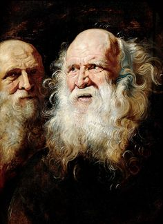 Peter Paul Rubens (1577 – 1641)  Flemish  STUDY HEADS OF AN OLD MAN, c. 1612  Oil on oak panel