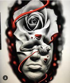 Bull Tattoos, Black Tattoos, 3d Tattoos, Sleeve Tattoos, Body Art Tattoos, Photoshop Tattoo, Butterfly With Flowers Tattoo, Neo Tattoo, Tattoo Sketches