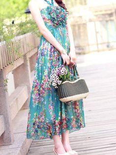 Romantic Bohemian Look