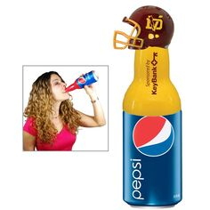 Sportz Bottle It w/ Collectible Football Helmet lid  $4.25 - $4.95/ea