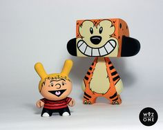 Calvin & Hobbes by WuzOne, via Flickr